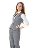 Young attractive and confident businesswoman Stock Photos