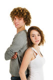 Young attractive couple Royalty Free Stock Photo