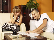 Young attractive couple Stock Photography