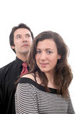 Young attractive couple Stock Photos