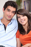 Young attractive couple Stock Photos