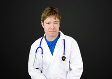 Young attractive doctor Stock Images