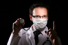 Young and attractive doctor assistant. Young and attractive man doctor assistant Royalty Free Stock Photography