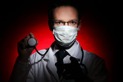 Young and attractive doctor assistant. Young and attractive man doctor assistant Royalty Free Stock Photos