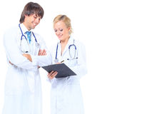Young attractive family doctor Royalty Free Stock Photo
