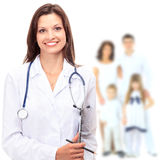 Young attractive family doctor Stock Photos
