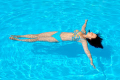 Young and attractive female beauty sunbathing Royalty Free Stock Photography