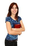 Young attractive female student Royalty Free Stock Image