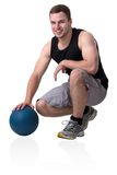 Young attractive fitness coach Royalty Free Stock Photos