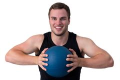 Young attractive fitness coach Stock Photos