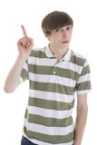 The young attractive guy Royalty Free Stock Photos