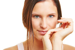 Young attractive happy woman Royalty Free Stock Photo