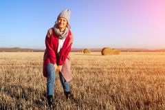 Young attractive lady royalty free stock photography