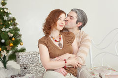 Young attractive loving couple Royalty Free Stock Images
