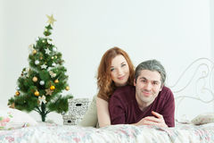 Young attractive loving couple Stock Photography