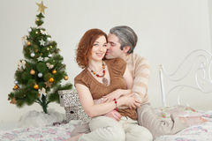 Young attractive loving couple Royalty Free Stock Photography