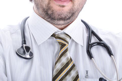 Young attractive male doctor Stock Images