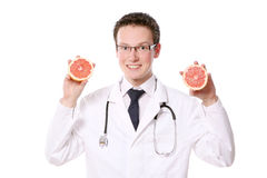 Young and attractive medical student Royalty Free Stock Image