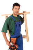 Young attractive Nepalese carpenter Stock Photos