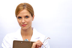 A Young Attractive Nurse Royalty Free Stock Photo
