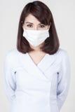 Young attractive nurse girl Royalty Free Stock Photos