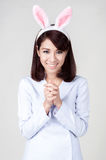 Young attractive nurse girl Royalty Free Stock Photo