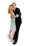 The young attractive pair Royalty Free Stock Photo