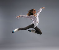 Young, attractive and sexy modern dancer Stock Image