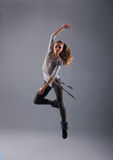 Young, attractive and modern dancer Stock Photo
