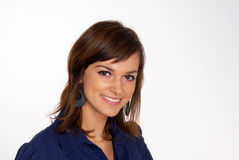 Young attractive smiling woman Royalty Free Stock Images