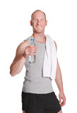 Young attractive sporty man Royalty Free Stock Photography