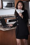 Young attractive thirties asian businesswoman Stock Image