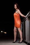 Young attractive twenties caucasian woman Royalty Free Stock Photos