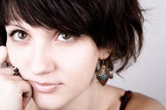 Young attractive woman Royalty Free Stock Photography