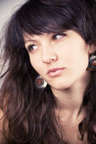 Young attractive woman Stock Image