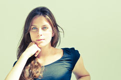 Young attractive woman Royalty Free Stock Images