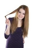 Young attractive woman Stock Photography