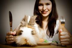 Rabbit For Dinner Stock Photo
