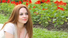 A young attractive woman Stock Photography