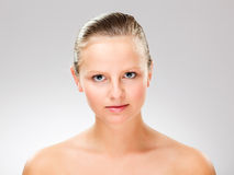Young, attractive woman Stock Photography