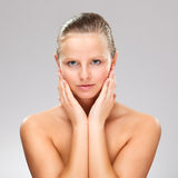 Young, attractive woman Royalty Free Stock Photos