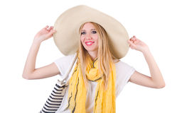 Young attractive woman Stock Images