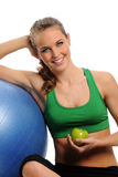 Young Attractive woman working out Stock Photography