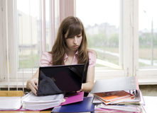 The young auditor Stock Images