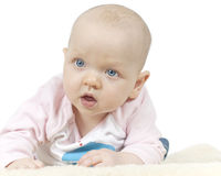Young baby girl Royalty Free Stock Photos