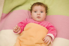 Young baby portrait Royalty Free Stock Image