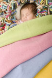 Young baby sleeping Stock Photos