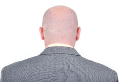 Young bald businessman Royalty Free Stock Photography