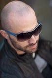 Young bald man Stock Photography