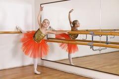 Young ballerina stock photo